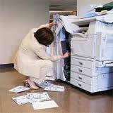 How to fix a paper jam in a printer