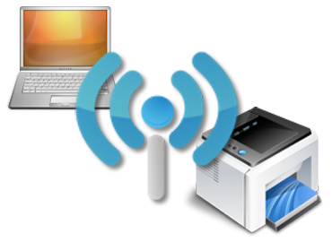 Wireless Printing Icon