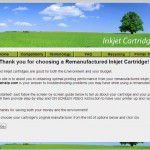 Ink Jet Cartridge Help Web Site